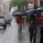 Emiten alerta meteorológica por lluvias y tormentas en todo el país