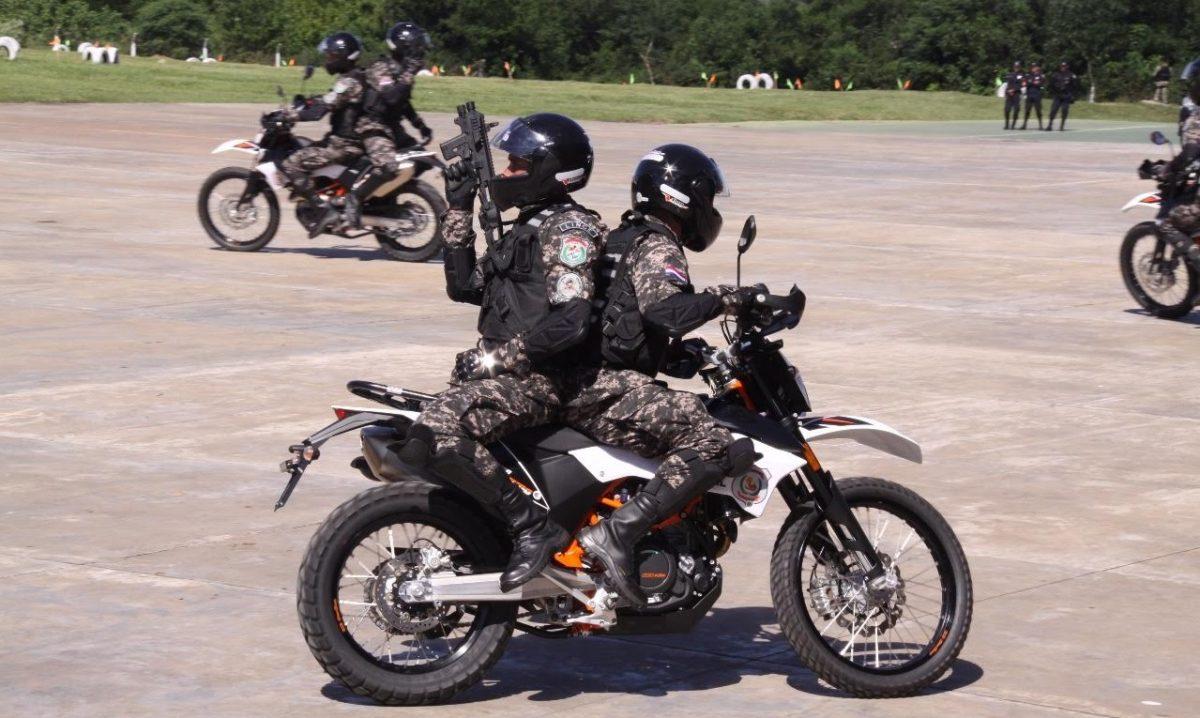 Unidad Motorizada de la Policía inicia tareas