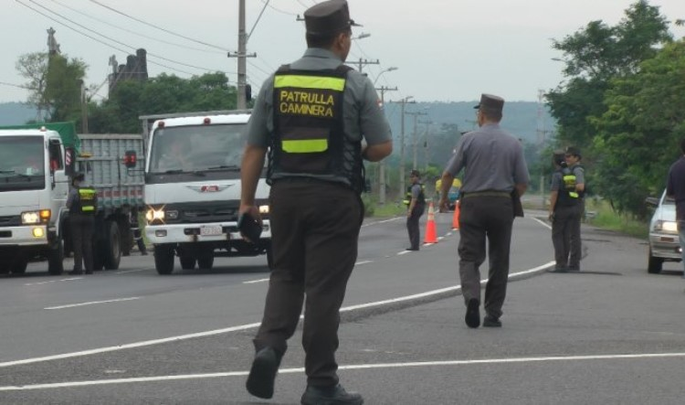 Oficial fue atropellado por una mujer en Alto Paraná