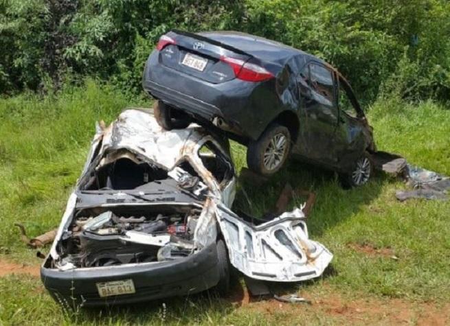Mujer resulta con heridas graves tras accidente en ruta
