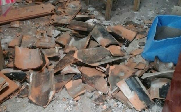 Se desmorona techo de escuela en Ñemby