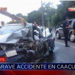 Joven muere en choque frontal en Caacupé
