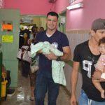 Vacían sala neonatal inundada en hospital público