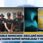 Asesino confeso narra trama de violencia e infidelidad en doble homicidio