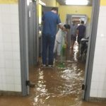 Raudal inunda sala neonatal del Hospital de Calle'i