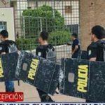 Rehenes y un herido en motín en cárcel de Concepción