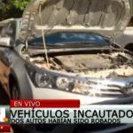 Recuperan vehículos robados, incluso del exterior
