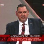 """Caso Zacarías Irún: Periodista denuncia pago a nombre de """"productora AAM"""""""
